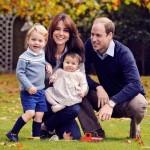 ウィリアム王子一家、クリスマスのあいさつ写真を公開!ジョージ王子は来年から幼稚園へ!