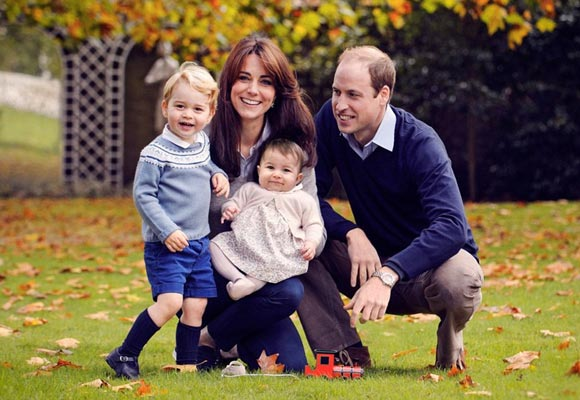 prince-William- Kate-George- Charlotte-dec-2015