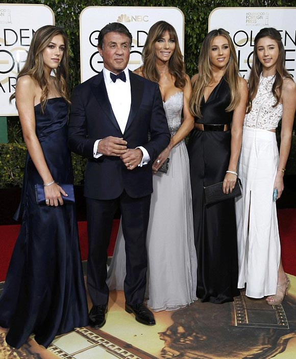 Sylvester-Stallone-daughters-golden-golden-globe-awards-2016-02