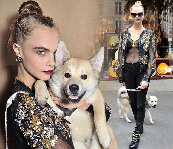 cara-delevingne-puppy-chanel-2016ss