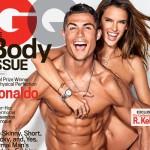 クリスティアーノ・ロナウド、ヴィクシーエンジェルとトップレスで登場!セクシーな肉体美を披露!#GQ