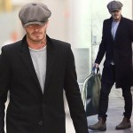 デビッド・ベッカム、スタイリッシュな空港スタイル #ファッション #私服