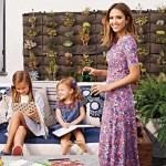 ジェシカ・アルバ、娘たちと雑誌に登場!オシャレな自宅を公開