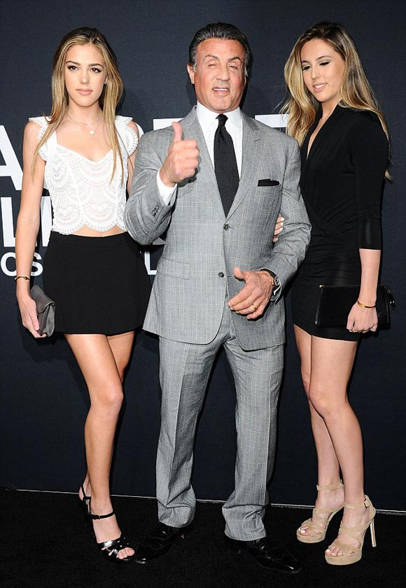 Sylvester-Stallone-daughter-SAINT-LAURENT-feb-2016-03