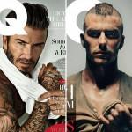 デビッド・ベッカム、過去と現在!英版『GQ』5種類の表紙で登場 #髪型