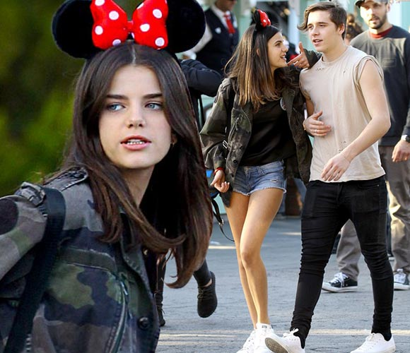 Brooklyn-Beckham-girlfriend-Sonia-Ben-Ammar-Disneyland-2016