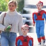 ヒラリー・ダフ、息子ルカ君がスパイダーマンに変身!