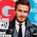 デビッド・ベッカム、アメリカ版 『GQ』の表紙に初登場!