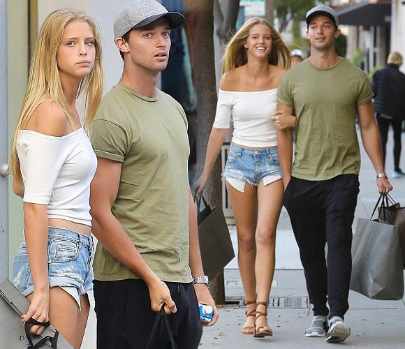 Patrick-Schwarzenegger-girlfriend-Abby-april-2016