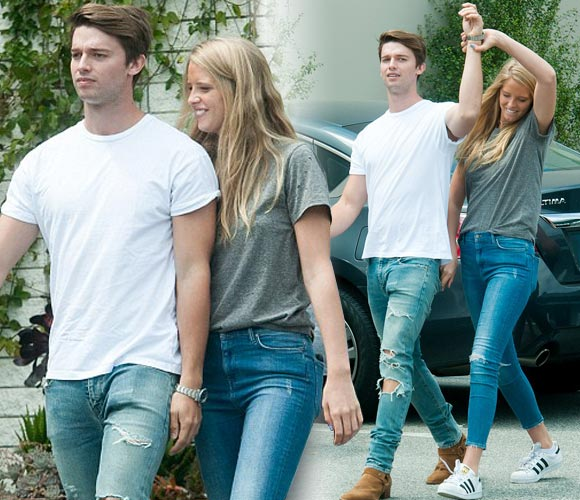 Patrick-Schwarzenegger-girlfriend-Abby-april-2016