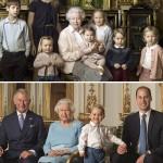 英エリザベス女王、90歳誕生日に写真公開!ジョージ王子らひ孫に囲まれ笑み