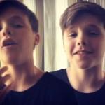 【動画】ベッカム家の三男クルス、アカペラで素敵な歌声を披露!