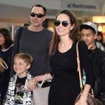 アンジェリーナ・ジョリー、子供たちと笑顔でロサンゼルス空港でキャッチ!#現在