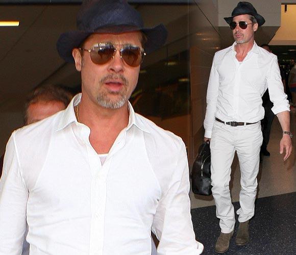 Brad-Pitt-white-outfit-june-2016