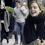 エマ・ワトソン、彼氏ウィリアム・ナイトと満面の笑顔で買い物デート