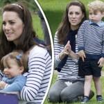 キャサリン妃、ジョージ王子&シャーロット王女とピクニック