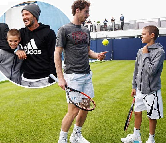 david--Romeo-Beckham-Andy-Murray-12-jun-2016