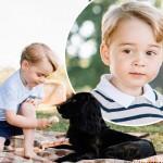 3歳になったジョージ王子、王室が4枚の公式写真を公開!#最新