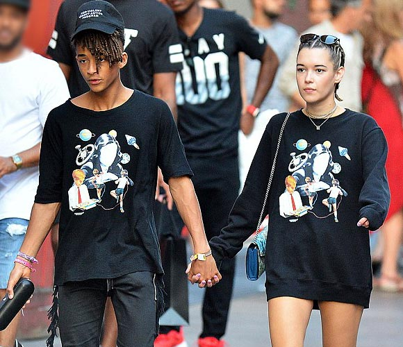 Jaden-Smith- girlfriend-Sarah -aug-2016
