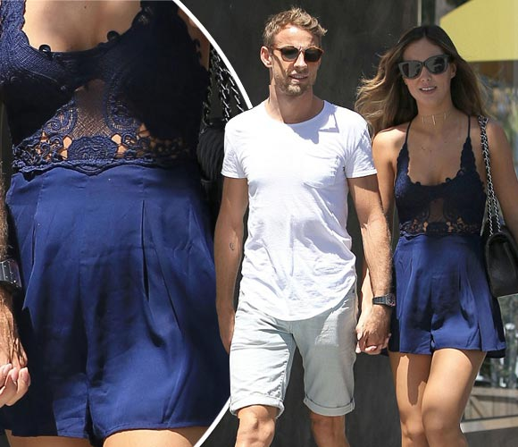 Jenson-Button-pregnant-Brittny-Ward-aug-2016