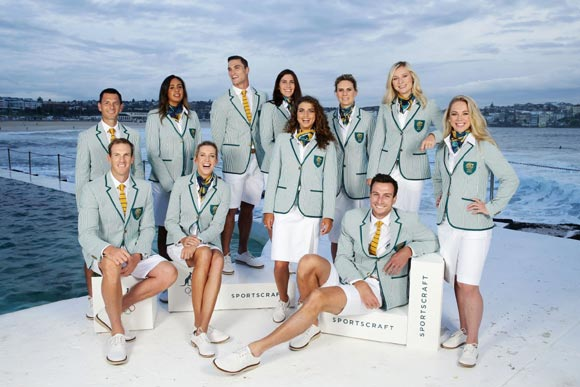 Stylish-Uniform-Olympic-team-Australia-2016-rio