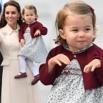 「カナダ」シャーロット王女、愛らしい姿が話題に!#最新 #服