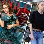リリー・ローズ・メロディ、夢が現実に!VOGUE誌の表紙を飾る