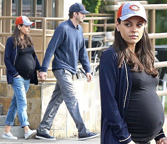 pregnant-mila-kunis-ashton-kutcher-nov-2016