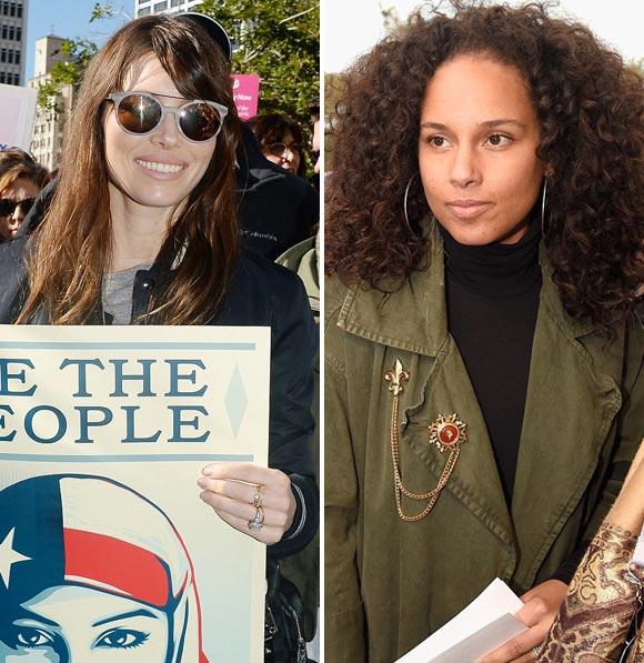 Alicia-Keys-Jessica-Biel-Womens-Marches-2017