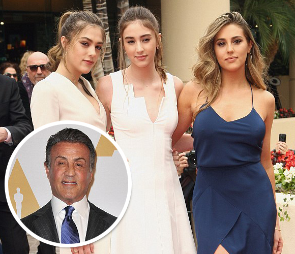 sylvester-stallone-daughters-golden-globes-2017