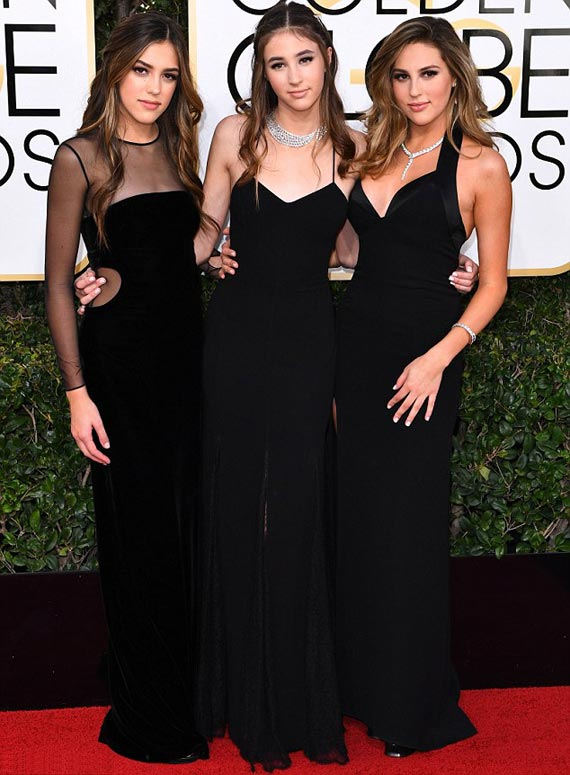 sylvester-stallone-daughters-golden-globes-2017-02