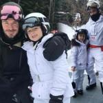 ベッカムの娘ハーパーちゃん、楽しいスキーデビュー!