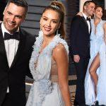 ジェシカ・アルバ&キャッシュ・ウォレン夫妻、アカデミー賞のアフターパーティーに出席