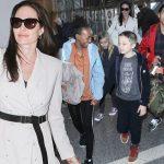 アンジェリーナ・ジョリー、子供6人と再びカンボジアへ!