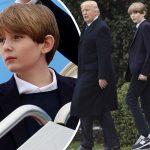 美少年すぎる!トランプ大統領の息子バロンくんが11歳の誕生日を迎える