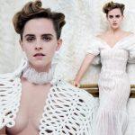 「美女と野獣」エマ・ワトソン、大胆なトップレス姿を披露