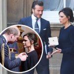 ヴィクトリア・ベッカム、大英帝国勲章を受章!#OBE