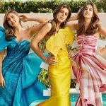 スタローンの美人3姉妹、初めてファッション誌の表紙を飾る