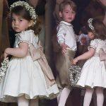 『キャサリン妃の妹が挙式』ジョージ王子&シャーロット王女、フラワーボーイ・ガールを務める