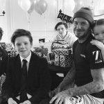 デビッド・ベッカム、42歳に!幸せいっぱいの家族写真を公開 #インスタグラム