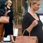 妊娠中のロージー・ハンティントン=ホワイトリー、オシャレなマタニティスタイル