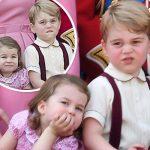 ジョージ王子&シャーロット女王、お茶目な2ショットが可愛い!#最新