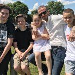 「父の日」ベッカムの子供たち、パパへ愛にあふれたメッセージを贈る