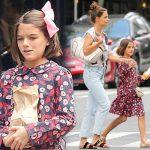 トム・クルーズの娘スリちゃん、連日ママとショッピング!#現在