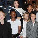 アンジェリーナ・ジョリー、6人の子供たちと映画祭に出席!