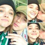 【動画】復縁したクロエ・モレッツ&ブルックリン・ベッカム、サッカー観戦中にキス!