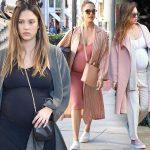 第3子妊娠中のジェシカ・アルバ、お洒落なマタニティコーデ20選 #私服