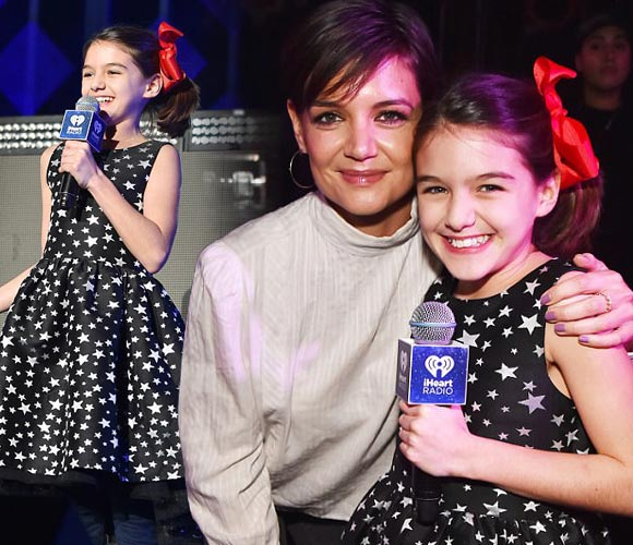Suri-Katie-Holmes-Jingle-Ball-2017