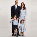 ウィリアム王子一家、クリスマスの家族写真を公開!#ジョージ王子 #シャーロット王女