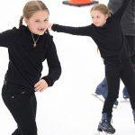 ベッカムの娘ハーパーちゃん、楽しそうにスケート滑る姿が可愛すぎる!